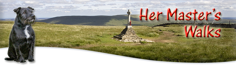 Buckden Pike Memorial Cross in Wharfedale